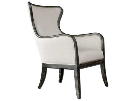 Uttermost Sandy Wing Back Accent Chair