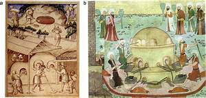A  Depiction Of A Medieval Glass Furnace  Showing The
