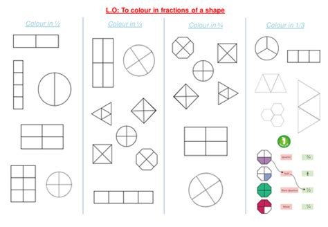 shading fractions of a shape by funky blues teaching