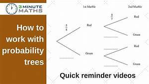 How To Use A Tree Diagram To Solve Probability - Gcse Question Level 5