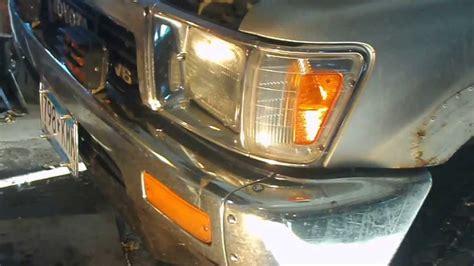 Headlight Replacement Toyota Pickup Youtube
