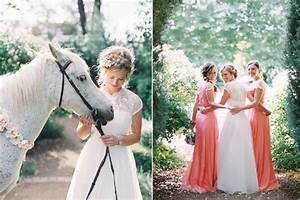 Chignon Demoiselle D Honneur Mariage : mariage champ tre chic mariages de shana ~ Melissatoandfro.com Idées de Décoration