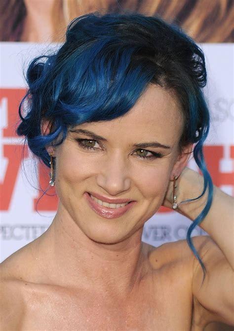 Juliette Lewis Blue Hair Ragstowrinkles