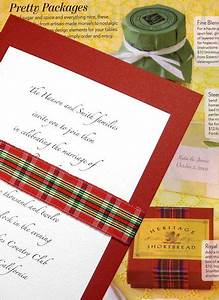 28 best images about scottish wedding theme on pinterest With red tartan wedding invitations