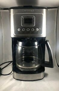 Cuisinart was developed and marketed in 1994 after the cuisinart exposed and being the top quality kitchen appliances brand in 1973. CUISINART 14-Cup Programmable Drip Coffee Maker Model DCC-3200, Used 86279078537 | eBay