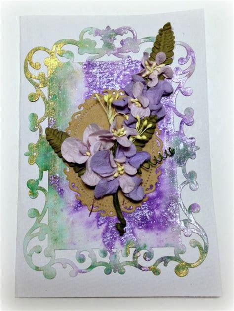 spellbinders card  janice woodard  images card