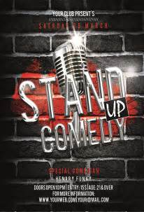 stand  comedy flyer  luckyinspiron graphicriver