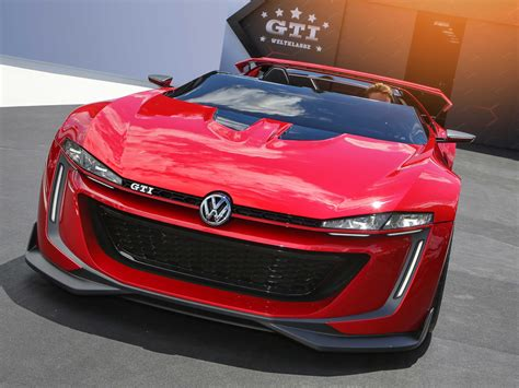 Vw Golf R 400 And Gti Roadster Concepts At La Auto Show