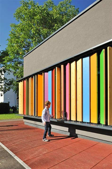 Kindergarten Kekec In Ljubljana Slo by Interactive Building Facades Search Playground