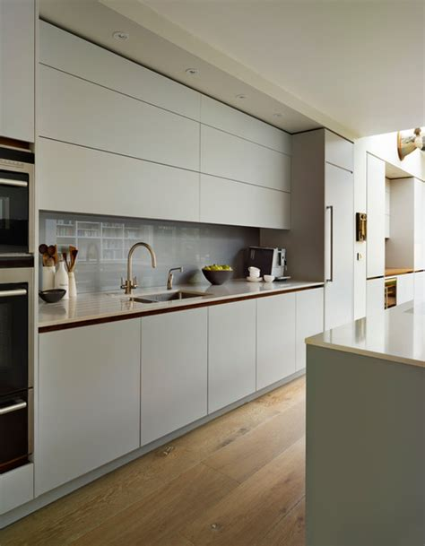 Bespoke Cabinets London by Roundhouse Minimal Kitchens Contemporary Kitchen