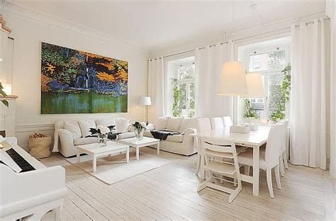 White Apartment by Modern White Apartment In A Historic Building