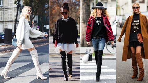 porter avec des cuissardes cet hiver en mode fashion