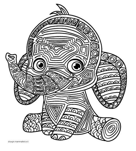 immagini dei mandala da colorare mandala per bambini da colorare l elefante disegni