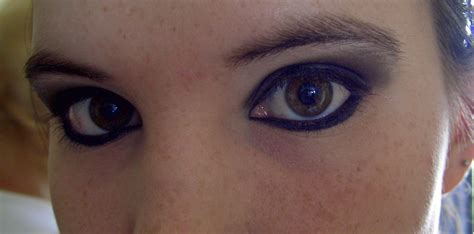 gothic makeup   create  animal print eye