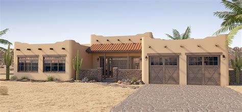 spanish mediterranean house plans story stucco adobe plan hunters roof mexican