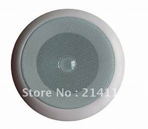Top Quality 5w Passive Fire Alarm Ceiling Speaker Tac 302 Public Address Speaker System On