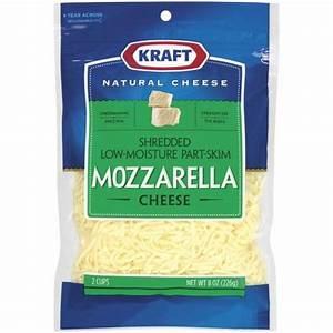 Kraft Shredded Low-Moisture Part-Skim Mozzarella... : Target
