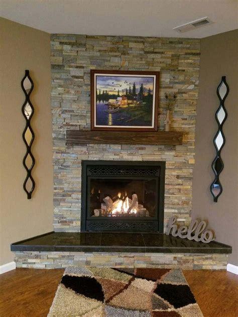 size  color fireplace mantel rugged wood finish
