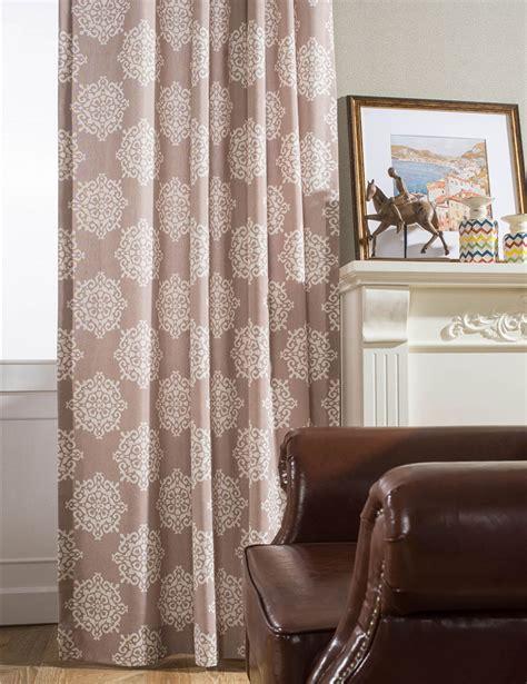 Drapery Grommets Wholesale - brown vintage curtains grommet top drapes living room