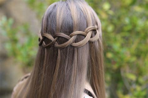 Waterfall Braids Cute Girls Hairstyles