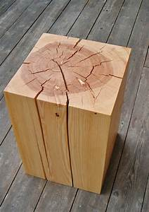 Beistelltische Holz : beistelltisch aus holzblock oder baumstumpf tolle ~ Pilothousefishingboats.com Haus und Dekorationen