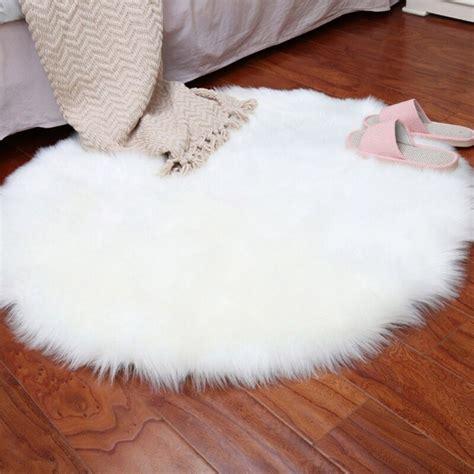 soft sheepskin rug chair cover artificial wool warm hairy