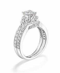 tolkowsky diamond bridal set in 14k white gold available With kay jewelers diamond wedding ring sets