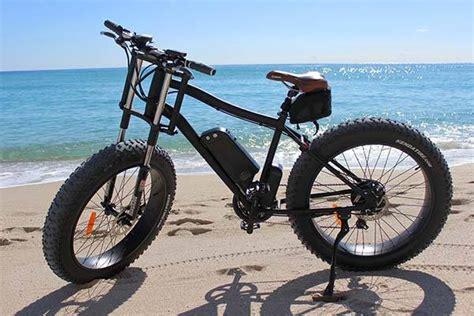 Xterrain500 All-terrain Electric Bike Can Ride Over Beach