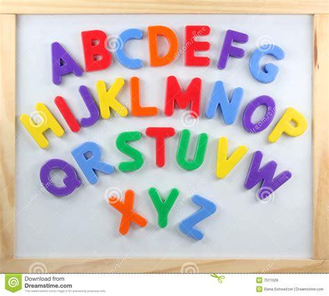 magnetic alphabet letters magnet letters stock photo image of orange teach