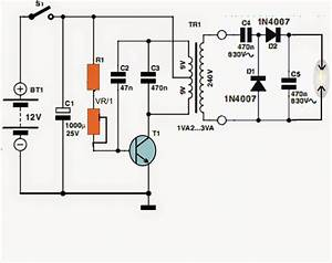 Simple High Voltage Generator Circuit