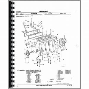 Av 8205  Cylinder Block Group Diagram And Parts List For