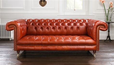 Chesterfield Settee by Sandringham Tufted Chesterfield Sofa Tufted