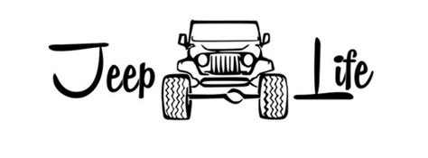 jeep life logo jeep life decal jeep city ebay love cars motorcycles