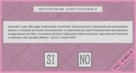 si鑒e la poste referendum costituzionale orari e altre informazioni utili il post