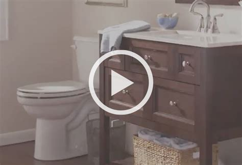 How To Install A Bathroom Vanity At The Home Depot At The