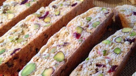 Best Biscotti Recipe by Cranberry Pistachio Biscotti Recipe Allrecipes
