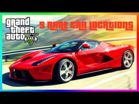 Don't worry if you're part of which majority group though, as there's still time to get out there as well as discover new things. 5 Rare Car Locations In GTA 5 Single Player - clipzui.com