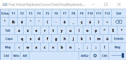 clavier virtuel gratuit