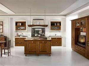 Modele De Cuisine Moderne : modele de cuisine moderne avec ilot cuisine en image ~ Melissatoandfro.com Idées de Décoration