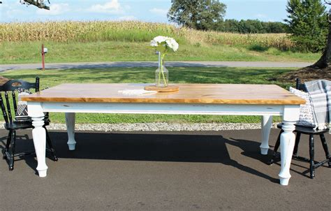 How To Build A Diy Farmhouse Dining Table