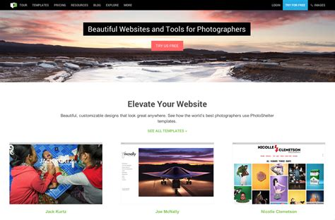 photoshelter   leader  photography websites sell