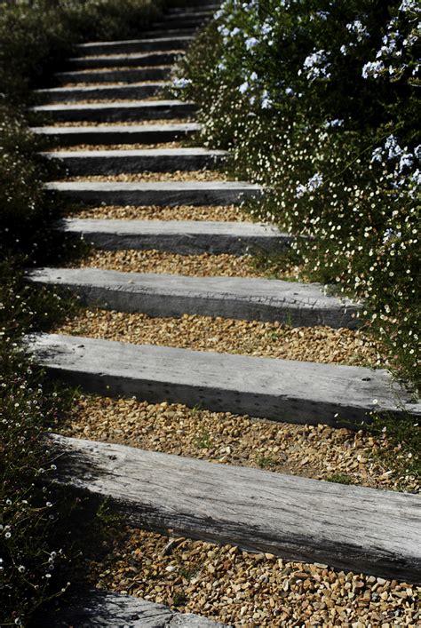 escalier en traverse de chemin de fer escalier en traverse de chemin de fer