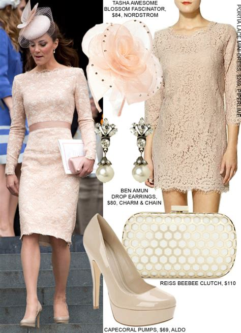 Burton Flower And Garden by Copy Kate Middleton S Pink Lace Alexander Mcqueen Dress