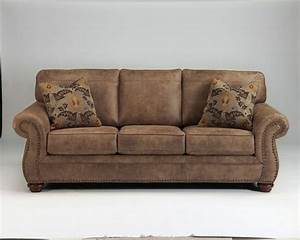New ashley larkinhurst traditional style classic sofa for Sofaland couch