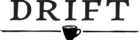 Our team has been inspired by cafes all over the world. Drift Coffee Logo   Ocean Isle Beach Sea Turtle Protection Organization