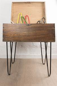 Pied Table Epingle Gallery Of Table Basse Rectangle Rtro