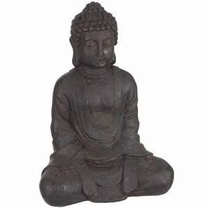 Statue Bouddha Interieur : statue bouddha pour d coration int rieur 23 cm ~ Teatrodelosmanantiales.com Idées de Décoration