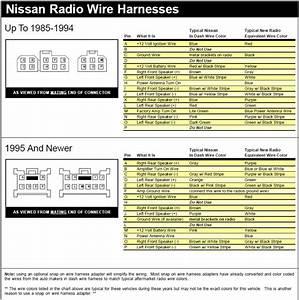 Nissan Sentra Radio Diagram