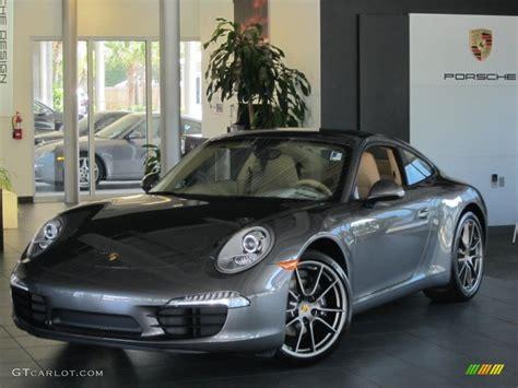 porsche agate grey interior 2013 agate grey metallic porsche 911 carrera coupe