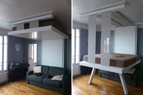 Saving Space With A Suspended Bedroom by Save Space With Suspended Bedroom My Decorative